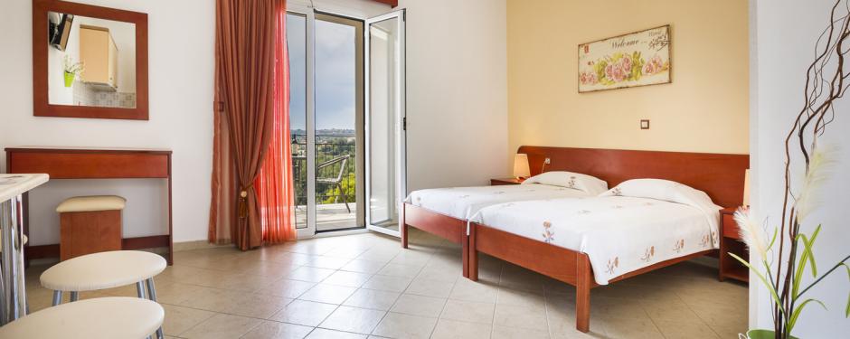 4 Rooms for 2 Adults | Alkioni Studios Trapezaki Kefalonia